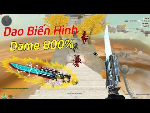 Cận Chiến Biến Hình Raging-Bull VIP Với Hỏa Lực Tăng 800% Dame.