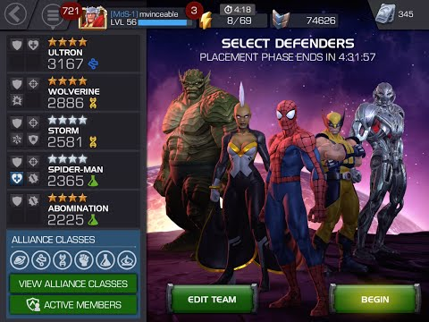 First Alliance War | Marvel Contest of Champions