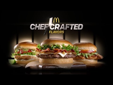 McDonald's Chef Crafted  Maple Bacon Dijon Burger Chef Crafted Flavors Review