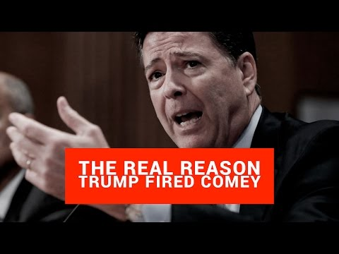Thumbnail: The REAL Reason Trump Fired Comey (Worse Than You Think)