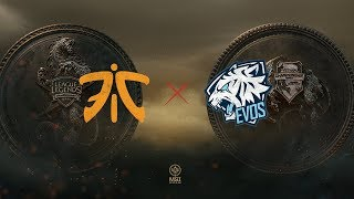 FNC vs. EVS | Group Stage Day 5 | Mid-Season Invitational | Fnatic vs. EVOS Esports (2018)
