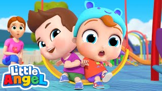 Yes Yes Play Nice At The Playground | Good Manners Song | Little Angel Kids Songs