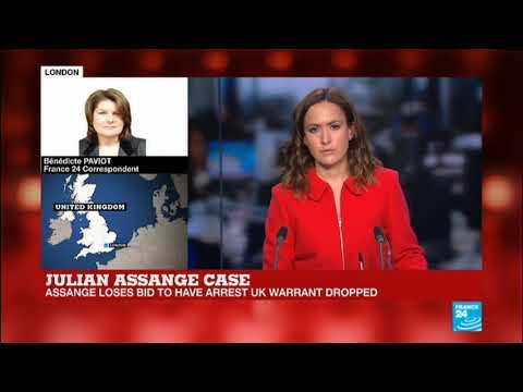 British Judge Upholds Assange Warrant