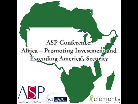Africa Investment - EXTENDING AMERICA'S NATIONAL SECURITY
