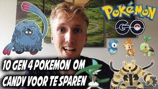 10 gen 4 Pokemon om alvast candy voor te sparen - Pokemon Go info video