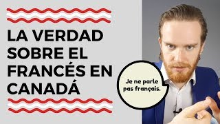 Esteriotipo Canadiense: Todos Canadienses Hablan Francés