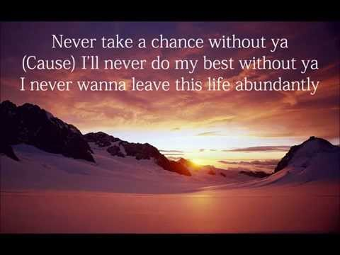 J. Moss - Abundantly (Lyrics with Adlibs)