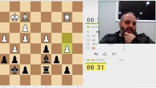 GM Ben Finegold plays bullet on lichess.org - #1