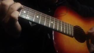 Không thấy ngày về (Lã phong lâm)-Guitar acoustic cover-đệm hát solo