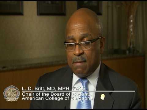Dr. Britt American College Of Surgeons On The U.S. Surgeon Shortage