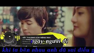 KARAOKE Vết thương của riêng anh Dương Hùng Khánh beat gốc