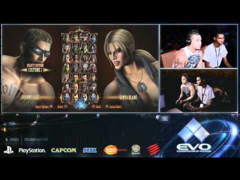 EVO 2012 Mortal Kombat 9 Full Top 8 Finals  Part 1