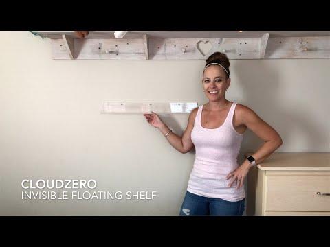 CLOUDZERO - Invisible Floating Shelf