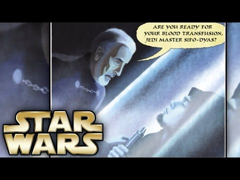 How Count Dooku killed Sifo Dyas and What he did with his Body