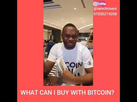 What Can I Buy With  Bitcoin