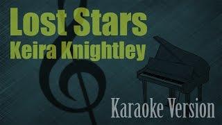 Keira Knightley - Lost Stars Karaoke Version | Ayjeeme Karaoke