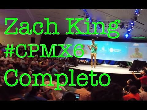 Zach King @ Campus Party Guadalajara 2015 #CPMX6 (COMPLETO)   GroPro