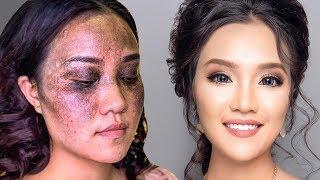 Da Nám Đen Trang Điểm Không Tì Vết / Hùng Việt makeup