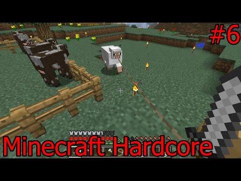 Minecraft  - ทำฟาร์มแกะ - Hardcore - day6