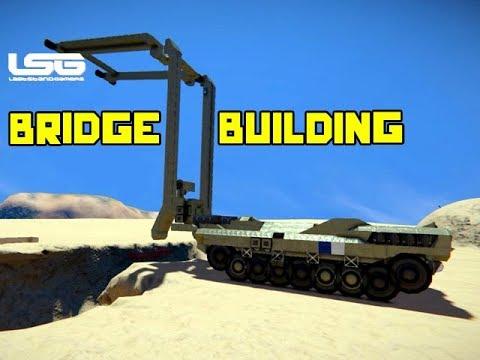 Bridge Building Tank - Space Engineers