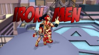 Marvel Super Hero Squad Online Iron Men Power Emotes- HD