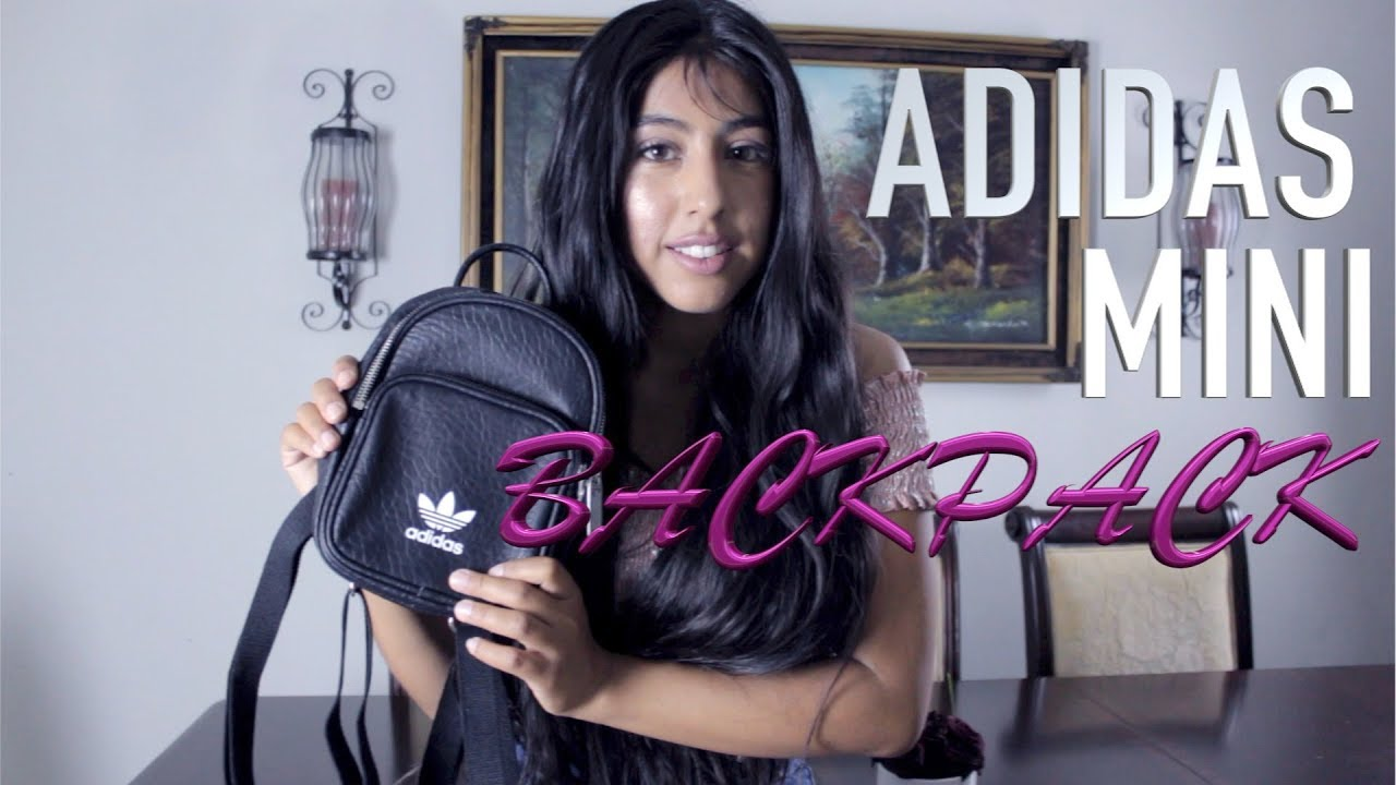 83ae1865f3c8 2017 Adidas Originals Classic Mini Backpack unboxing - YouTube