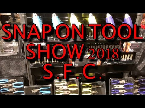 SNAP ON HUGE TOOL SHOW SFC 2018