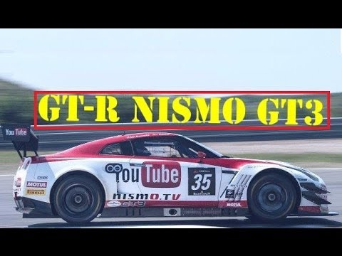 Nissan GT-R Nismo GT3 ♣ The Movie ♣ HD 720p