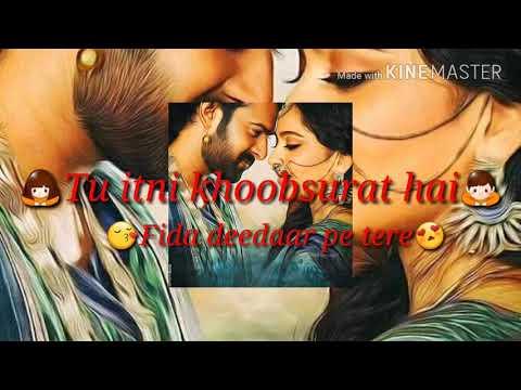 💓💖Tu itni khubsurat hai#Rahat fteh ali khan.whatsapp status and ringtone