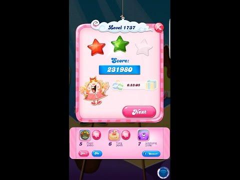 how to win level 1737 candy crush saga