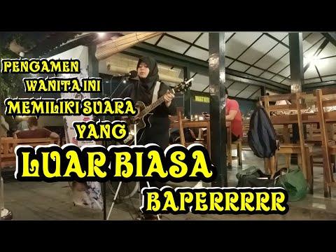 WOWWW BIKIN BAPERRR !!! SUARA PENGAMEN WANITA INI, SIMAK SAMPAI HABIS - FIX YOU - COLD PLAY