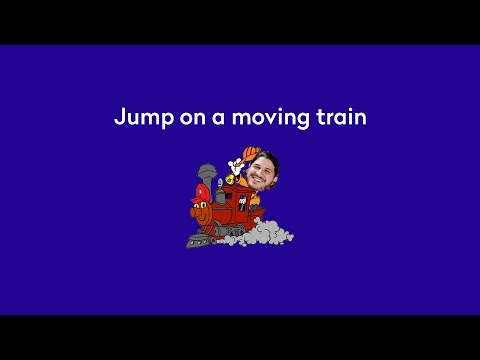 People want to jump on a moving train...