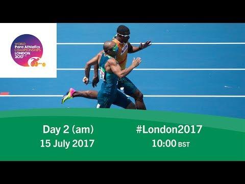 Day 2   Morning   World Para Athletics Championships London 2017