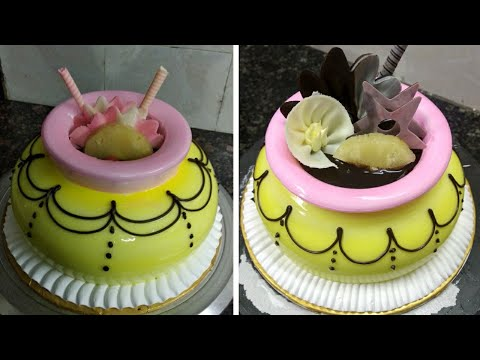 How To Make Krishna Cake Kanhaya Birthday Cake Matka Cake Decorations | Sunil Cake Master Fancy Cake