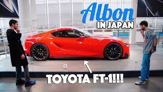 Is this the new Toyota Supra? - Albon In Japan - EP01