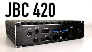 Introducing the JBC420 Fanless Mini PC with Dual LAN, Quad Core with H.265 and AES-NI