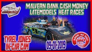 Tyrel Jones Cash Money Late Model Series In-Car Camera