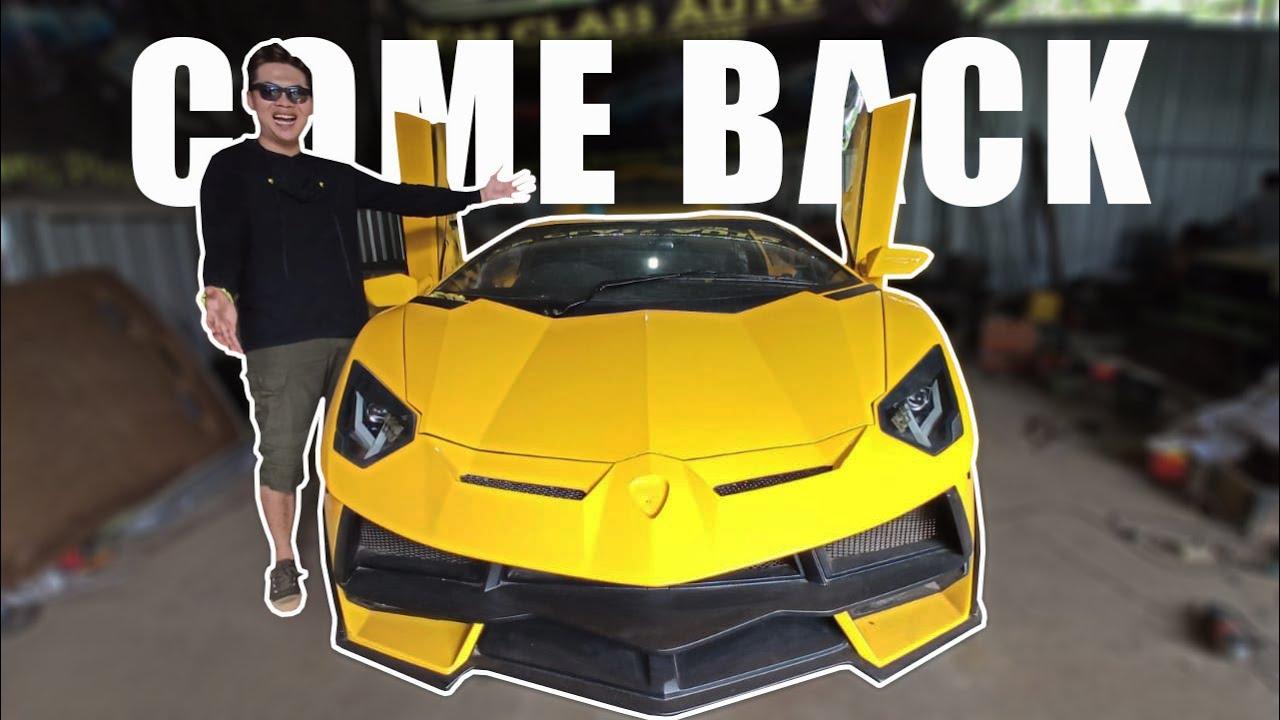 Update Terbaru Replica Lamborghini Gunungkidul !! Hampir Jadi !!