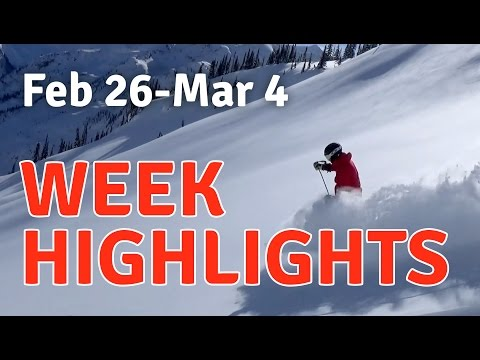 February 25 - March 4 Tour 613 Heli-skiing Highlights