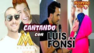 Vente Pa' Ca y Despacito ft. Maluma y Luis Fonsi | Cantando con Palomitas Flow!!  (smule) thumbnail