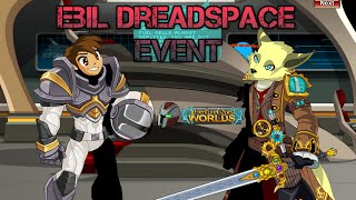 AQWorlds - Ebil DreadSpace Event! | Undead in Space | /Join DreadSpace