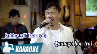 [KARAOKE] Vọng Gác Đêm Sương - Quang Lập BEAT TONE NAM