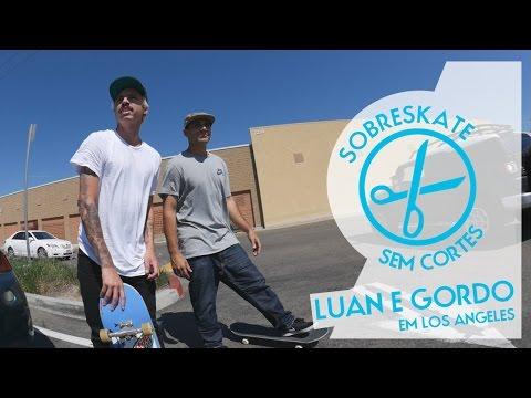 Sem Cortes - Luan Oliveira, Cezar Gordo e Abe em LA