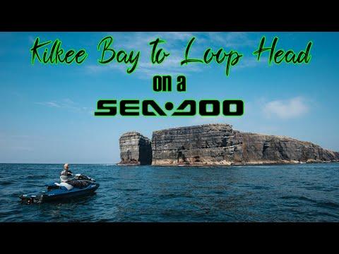 Kilkee Bay to Loop Head on Seadoo Jet Skis