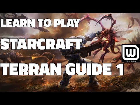 Learn to play Starcraft - Terran Starter Guide #1 - Updated (2017 LOTV)