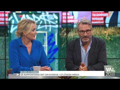 Så är bilden av Sverige i utländska medier  - Nyhetsmorgon (TV4)