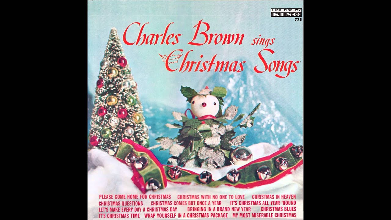 """Charles Brown – """"Christmas (Comes But Once A Year)"""" (King) 1961 ..."""