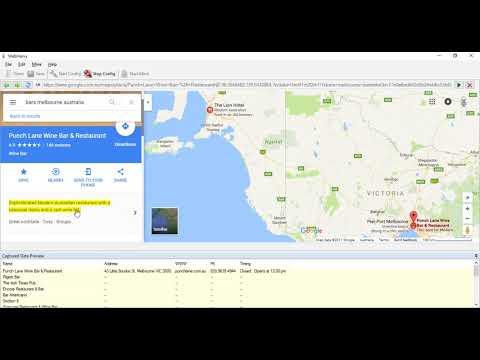 Extracting data from Google Maps | Webharvy