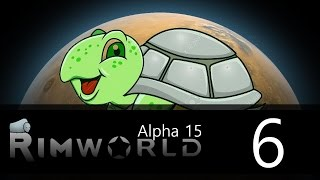 Rimworld - Alpha 15 - Lone Survivor Challenge - Episode 6 - Cute Puppy