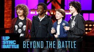 The Stranger Things Cast Go Beyond the Battle | Lip Sync Battle